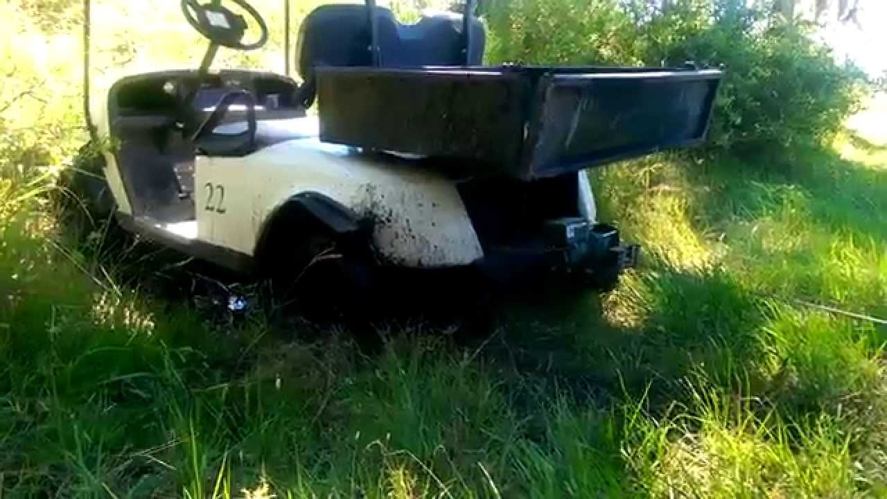 DIY Winch Hitch Mount in Action - YouTube on golf cart spare tire mount, golf cart spoiler, golf cart step plate, golf cart fire extinguisher, golf cart tachometer mount, golf cart brush guards, golf cart bug shield, golf cart skid plate, golf cart tie down, golf cart gps mount, golf cart roof rails, golf cart light kit, golf cart dog box, golf cart sun shade, golf cart bed liner, golf cart radio mount, golf cart switch, golf cart repair manual, golf cart scan tool, golf cart muffler,
