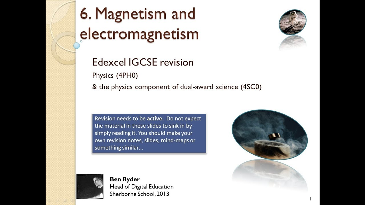 Igcse magnetism and electromagnetism concepts and