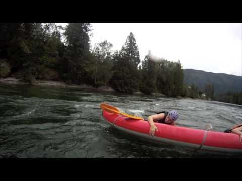 High Adventure Inflatable kayak rafting