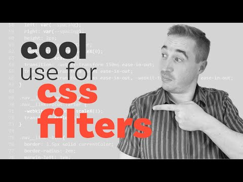 I Never Thought Of Using CSS Filters Like This
