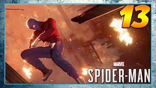 Wrestler Suit SpiderMan Hampir MATI?! Spiderman PS4 Pro Indonesia #13