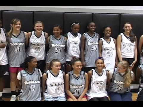 Robinson Girls Basketball Uniform Reveal