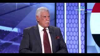 هزار و ضحك ك/ بركات و أحمد سليمان و حسن شحاته على مباراة الجزائر - المقصورة