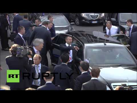 Italy: Watch Putin Bid 'arrivederci' To ASEM