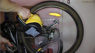 Горный велосипед - Ремонт. Новый способ очистки цепи, Чистка велосипедной цепи паром.(Это видео о нетрадиционном методе отчисти цепи, с помощью парогенератора. музыка - Dr. Dre - Still В целом..., 2015-03-24T14:56:59.000Z)