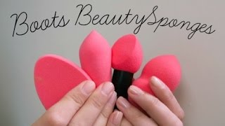 Budget Beauty Sponges From Boots / AD