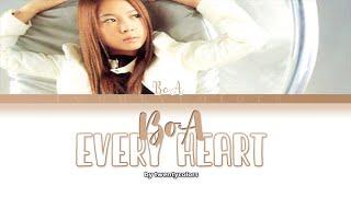 BoA (ボア) - Every Heart (ミンナノキモチ) (Color Coded Lyrics Kan/Rom/Eng)