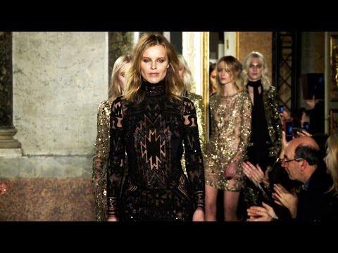 Emilio Pucci Fall 2014 backstage, interviews and runway | Videofashion