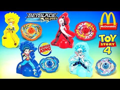2019 Burger King Beyblade Burst Toys Hasbro Powerpuff
