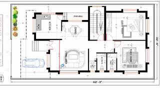 32 feet x 62 feet best house plan