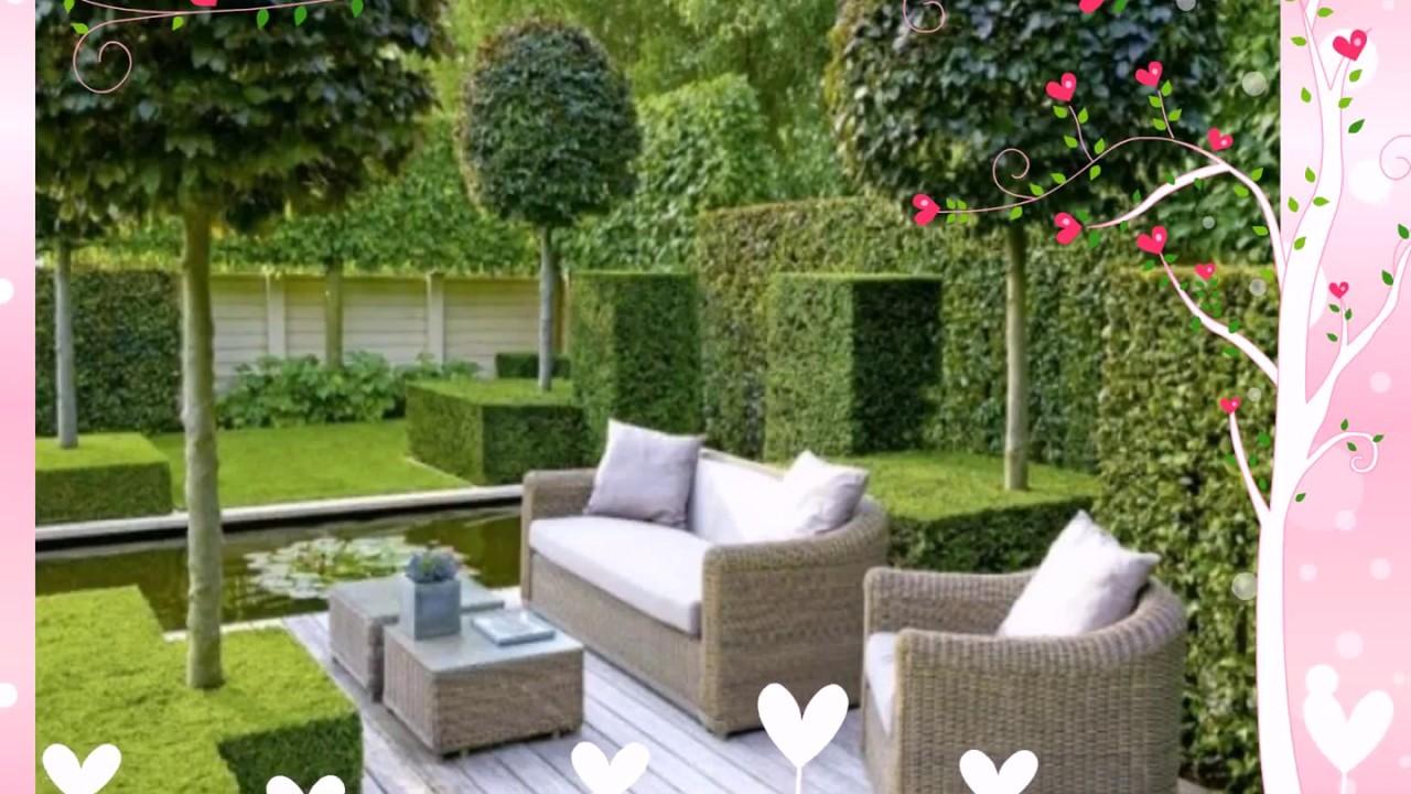 Gartengestaltung Kleine Gärten Beispiele   YouTube