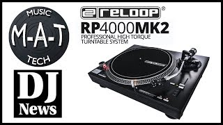 Reloop RP 4000 MK2 DJ Turntable on The M-A-T with DJ Michael Joseph