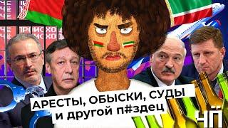 Чё Происходит #17 | Беларусь: Лукашенко требует извинений | Россия: аресты, обыски, суды
