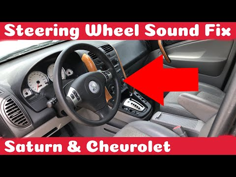 How To Fix Saturn or Chevrolet Steering Wheel Sound DIY