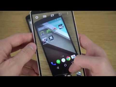 LG G3 vs Nexus 5 Android L Review 4K