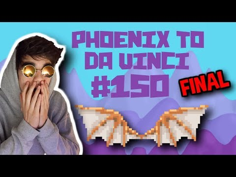 I GOT DA VINCI WINGS [LAST EPISODE] | Phoenix To Da Vinci #150 | Growtopia