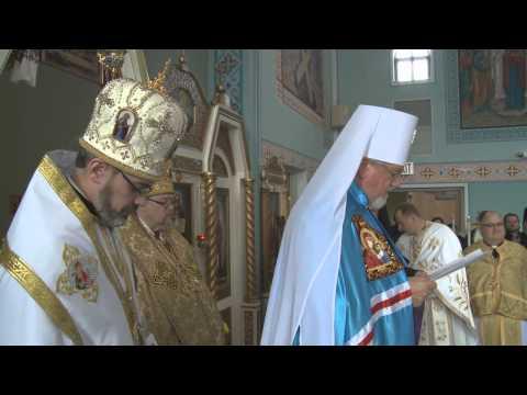 His Eminence Metropolitan Antony Enthroned, Ukrainian Orthodox Church