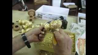 Как позолотить карниз 1,2 $ сусальное золото Киев, Харьков, Одесса, Крым(, 2014-08-12T19:21:17.000Z)