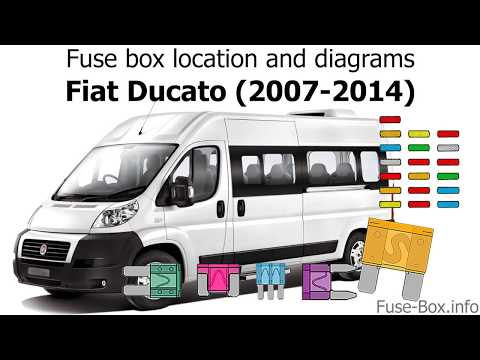 Fuse box location and diagrams: Fiat Ducato (2007-2014) - YouTubeYouTube