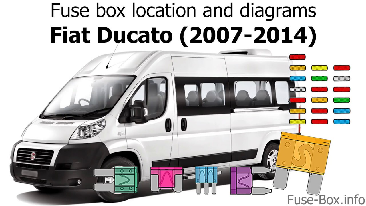 medium resolution of fuse box location and diagrams fiat ducato 2007 2014 youtube 2007 chevy van fuse box 2007 van fuse box