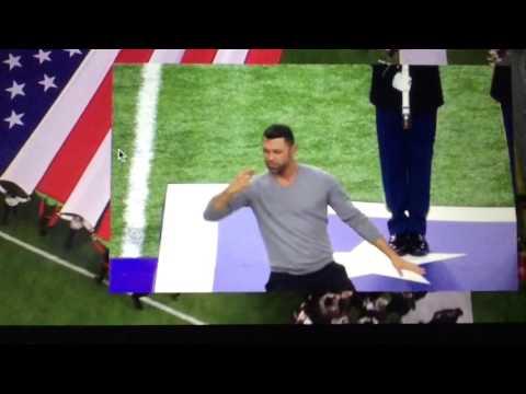 Super Bowl 2017 National Anthem in ASL