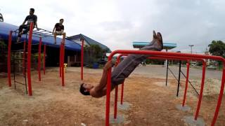 Building an Outdoor Gym - Street Workout Freestyle [HD]