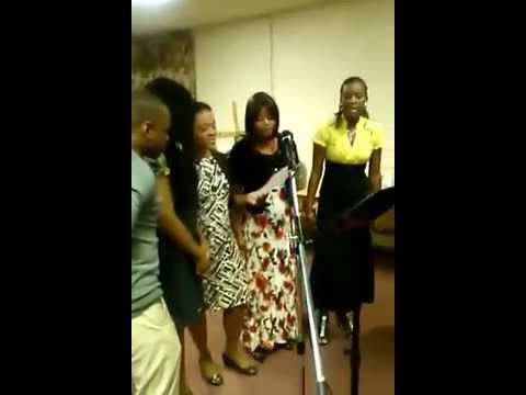 El Shaddai by the youth of the Paterson Haitian Bethel Church of Nazarene