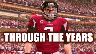 MATT RYAN THROUGH THE YEARS - NCAA FOOTBALL 05 - MADDEN 17