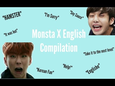 Monsta X English Compilation