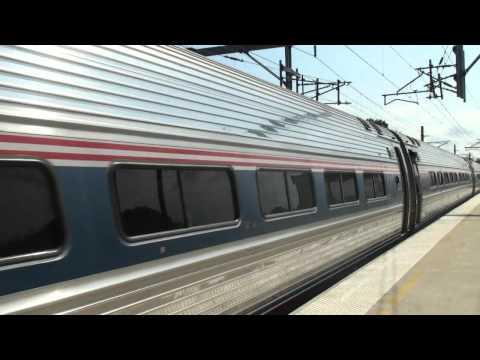 Amtrak And MBTA At Rt.128