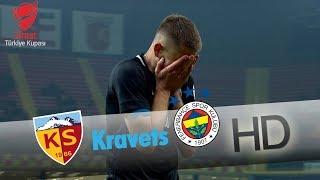 Kravets gole çok yaklaşıyor! | Hes Kablo Kayserispor - Fenerbahçe