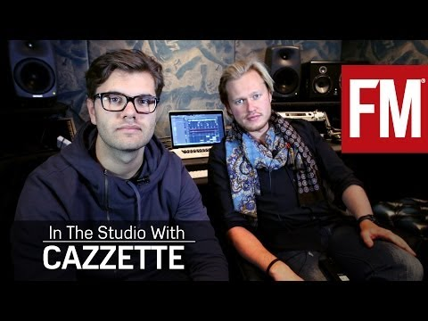 Cazzette In The Studio With Future