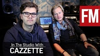 Cazzette In The Studio With Future Music