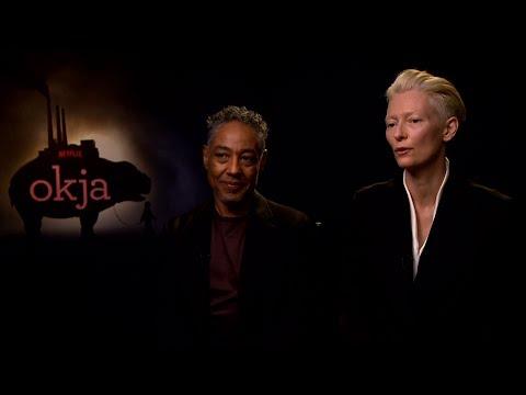 Interview with Tilda Swinton and Giancarlo Esposito for Okja