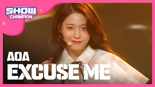 [SHOWCHAMPION] 에이오에이 - Excuse Me (AOA - Excuse Me) l EP.212