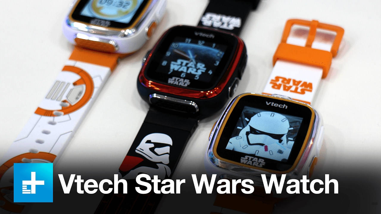 Candid Camera Star Wars : Vtech star wars smart style watch and ar camera hands on review