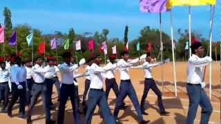 Pondicherry Engineering College March past 2013(IT Dept)