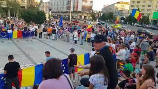 Protest Piata Unirii, 11 august