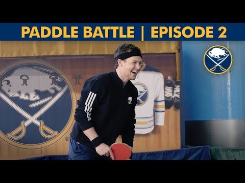 Buffalo Sabres Ping Pong Tournament Continues! | Paddle Battle Episode 2
