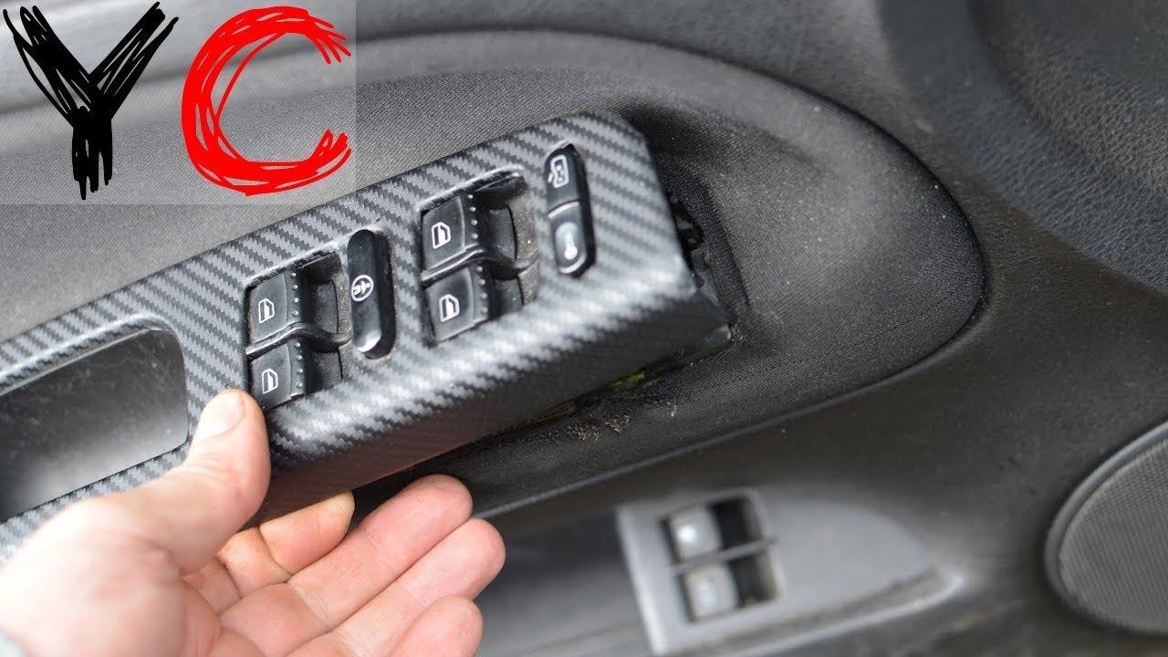 Снятие карты/обшивки водительской  двери Фольксваген пассат б5