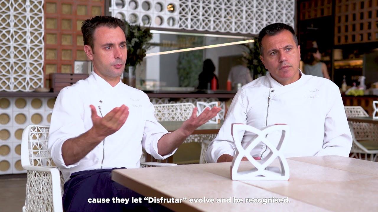 #FOODMISSION Mateu Casañas, Oriol Castro and Eduard Xatruch; Disfrutar, Barcelona, Spain
