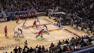 NBA 2K10 - Random Highlights - Wade/Kobe/Carter etc - With TNT Scoreboard Mod - PC - HD
