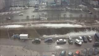 ДТП на парковке Чебоксары