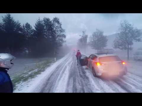 Moto-Photo Stories 2016 - Austria snow - Glödnitz, Österreich