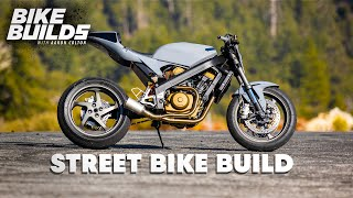 Completing a Classic Restoration Honda Hawk RC31 Street Bike | Bike Builds with Aaron Colton