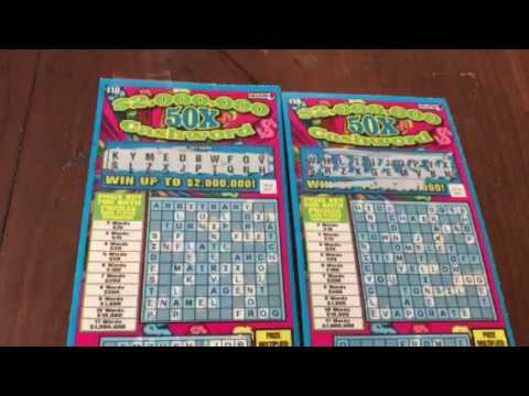 Cashword Reveal!!! Mass Lottery Scratch Ticket Winner