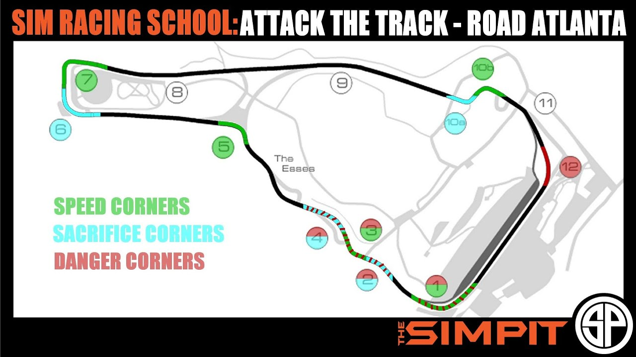 Charming Attack The Track   Road Atlanta   By The Simpit