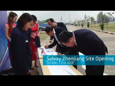Solvay's electronic grade hydrogen peroxide production sparks interest in China
