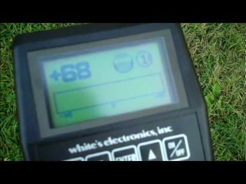 Metal detecting with a whites XLT - part 1