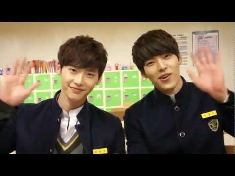 school 2013 Interview Kim Woo Bin & Lee Jong Suk 학교 2013 w ENGLISH captions